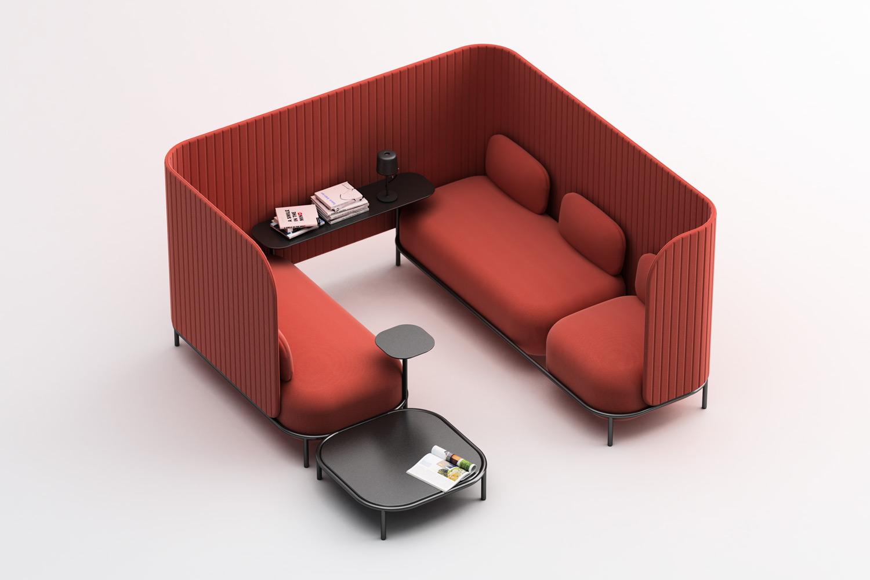 Bold privé, side table e accessori