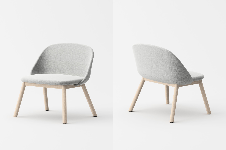 Spoon lounge chair