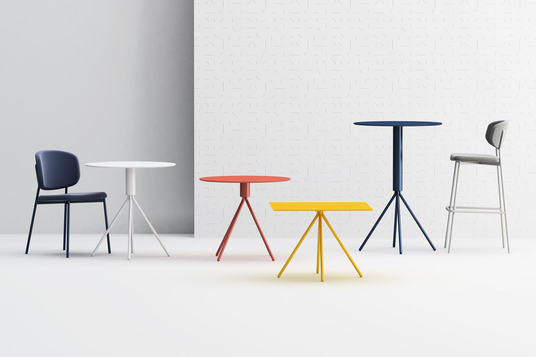 Tavoli contract Galileo Design studio Pastina per Copiosa