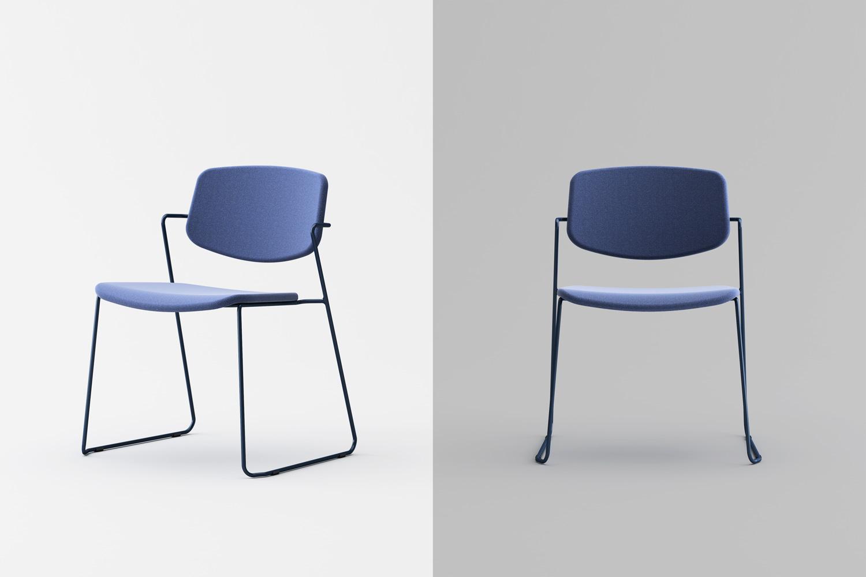 Serpentine chair sedia