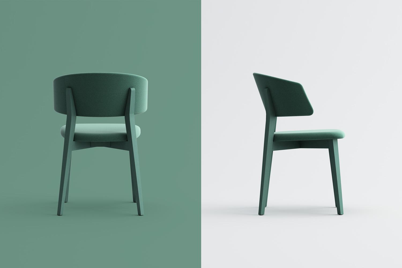 Wrap Wood chair
