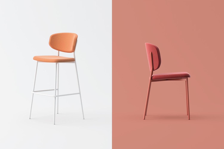 Wround chair barstool